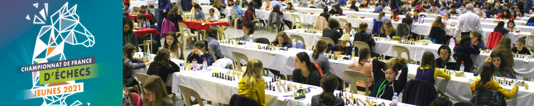 Championnat de France d'échecs des Jeunes 2021